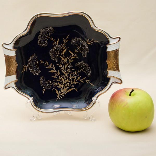 Коллекционное Сервировочное Блюдо Тарелка Фарфор WEIMAR Германия -1946-1948 годы