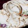 Сервировочное  Фарфоровое Блюдо - Менажница -  Фруктовница, Porcelain Des Paris, Франция -60гг.