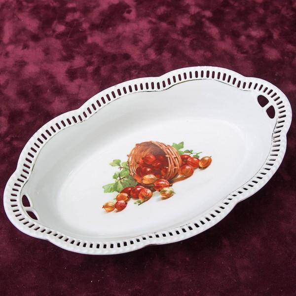 Сервировочное  Блюдо  Фруктовница Фарфор SHUMAN ARZBERG Германия -1918 -1929 года.