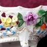 «Цветение Лета» Фарфоровая Сухарница - Корзинка для выпечки - Вазочка - Конфетница SP Dresden Германия
