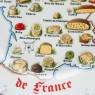 Сервировочный Столовый Набор для СЫРА из 13-ти Фарфоровых Тарелок Limoges Франция.