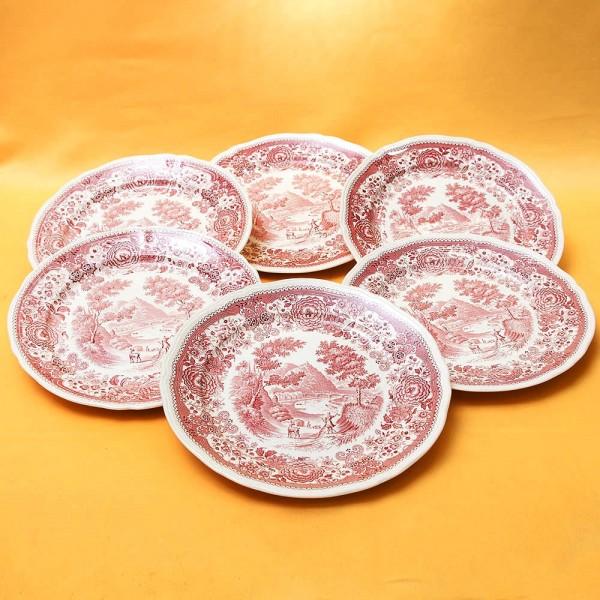 Столовый Набор 6-ть тарелок из коллекции «Burgenland» VILLEROY&BOCH, Германия.