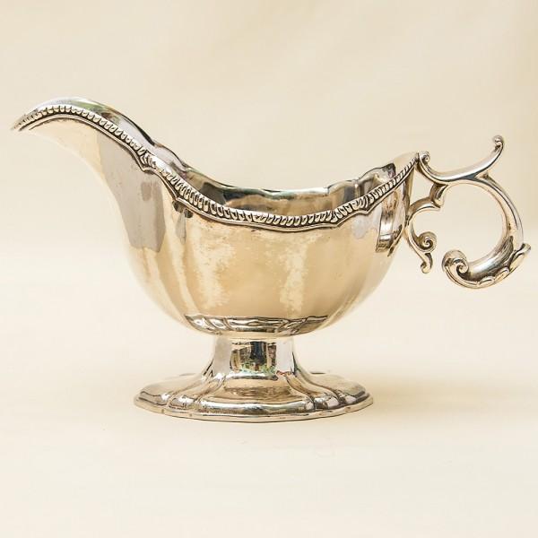 Классический Металлический Соусник. Silverplate, Англия 50-е годы ХХ века.