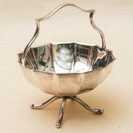 Вазочка - Конфетница - Сахарница - Орешница, SHEFFIELD Англия Silverplate, 60 -е годы ХХ века.