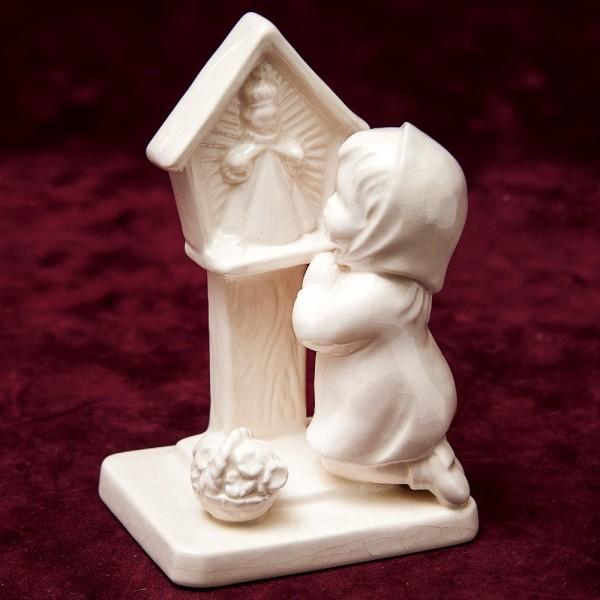 Коллекционная Статуэтка «Молитва» Фарфор, Goebel, Германия, 80 -е годы ХХ века.