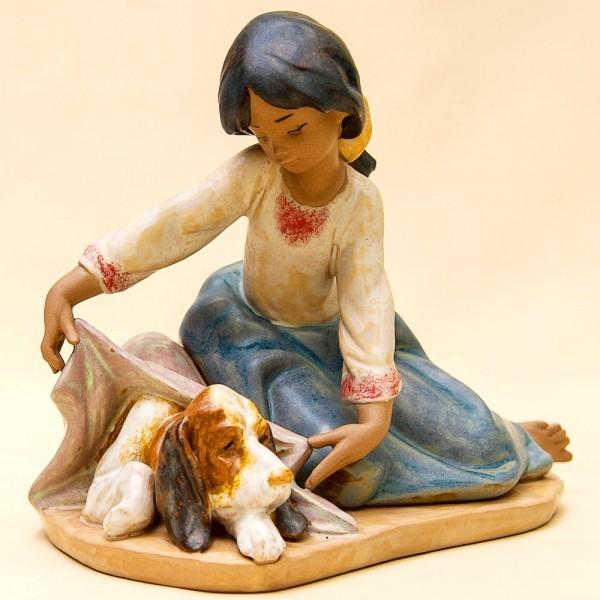 Коллекционная Фарфоровая статуэтка «Лучшие друзья» Lladro, Испания - 1989 год.