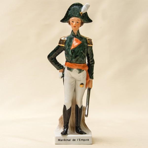 Фарфоровая Cтатуэтка Солдата - «Маршал Империи» из серии «Армия Наполеона»