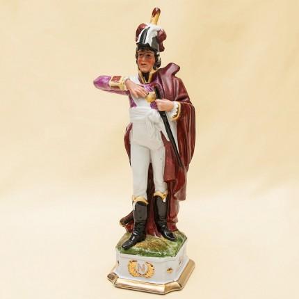 Статуэтка «Маршал Империи» - «Армия Наполеона» Фарфор Porcelain De LUXE Франция 60гг.