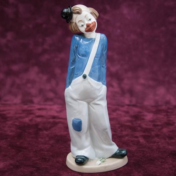 Коллекционная Фарфоровая статуэтка «Милый Клоун» Н - 23 см. NADAL, Испания - 80-е годы ХХ века.