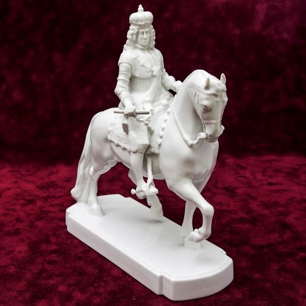 Редкость!!! Фарфоровая Статуэтка «Император на коне» ROSENTHAL Германия -1957 год.
