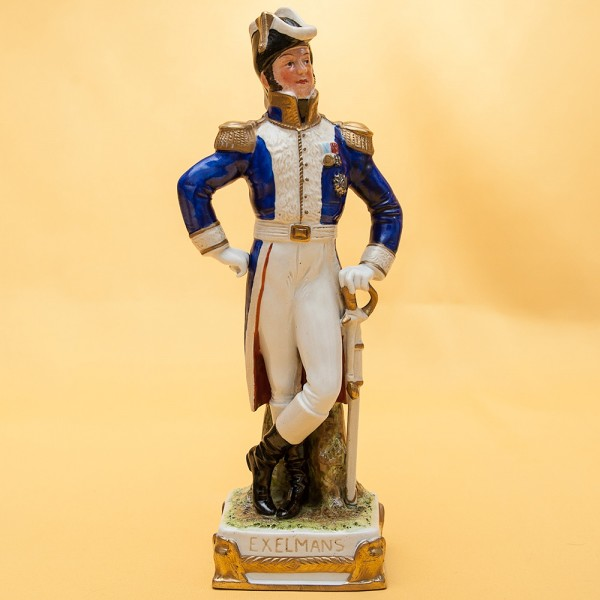 Статуэтка «EXELMANS» серия «Маршалы Армии Наполеона» Фарфор Scheibe - Alsbach.