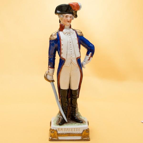 Статуэтка «La FAYETTE» серия «Маршалы Армии Наполеона» Фарфор Scheibe - Alsbach.