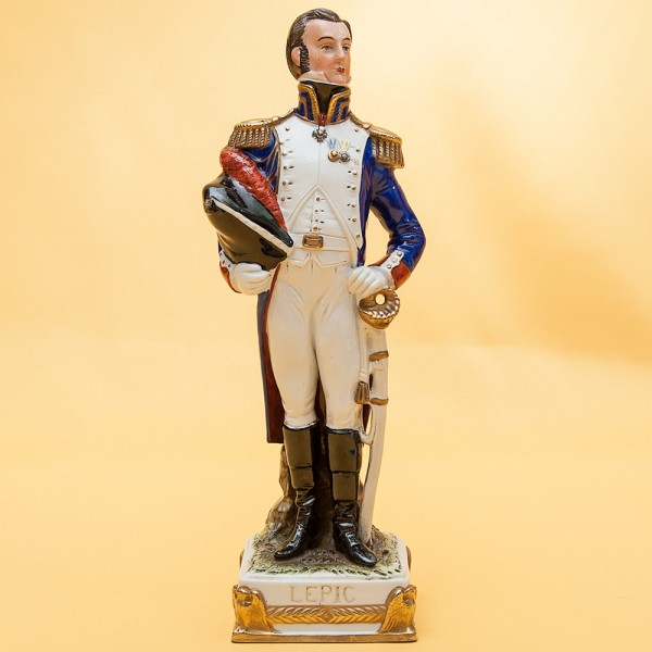 Статуэтка «LEPIC» серия «Маршалы Армии Наполеона» Фарфор Scheibe - Alsbach.