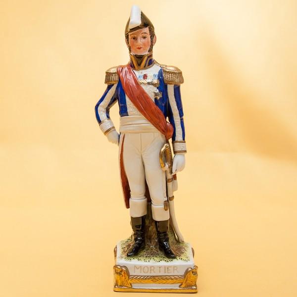 Статуэтка «MORTIER» серия «Маршалы Армии Наполеона» Фарфор Scheibe - Alsbach.