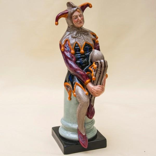 Коллекционная Авторская Фарфоровая статуэтка «ШУТ» - Н-25 см., Royal Doulton, Англия.