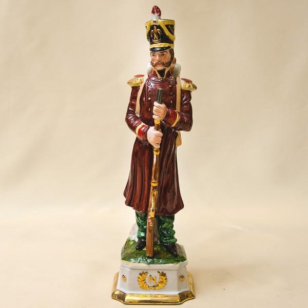 Статуэтка «Унтер-Офицер» из серии «Армия Наполеона» Фарфор Porcelain De LUXE Франция 60гг.