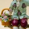 Фарфоровая статуэтка «Влюбленная пара» Н-14см. SITZENDORF  Германия - 50гг..