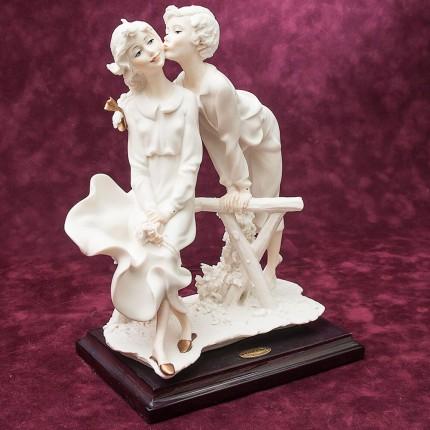 Коллекционная Скульптурная Композиция «Первый Поцелуй» Giuseppe ARMANI, Италия -1990г.