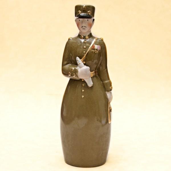 """Штоф-Графин-Бутылка- Флакон для ликёра """"Мой Генерал"""" AРТ ДЕКО ROBJ ФРАНЦИЯ 1928г."""