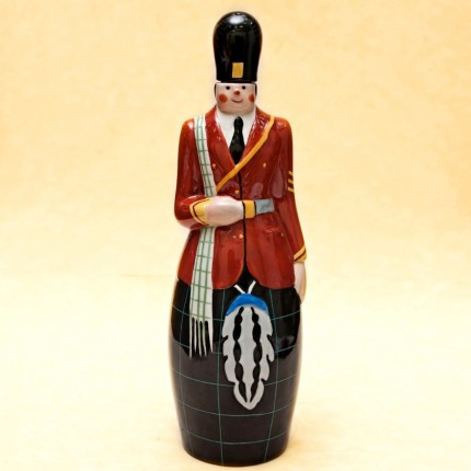 "Штоф-Графин-Бутылка- Флакон для ликёра ""ШОТЛАНДЕЦ"" AРТ ДЕКО ROBJ ФРАНЦИЯ 1928г."