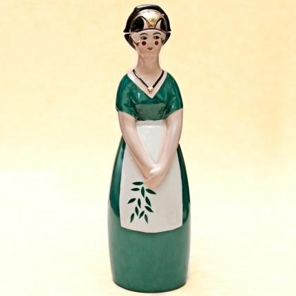 """Штоф-Графин-Бутылка- Флакон для ликёра """"Праздник Урожая"""" AРТ ДЕКО ROBJ ФРАНЦИЯ 1928г."""