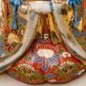 Редкая! Коллекционная Фарфороваях Статуэтка «Девушка с веером» Китай,  SATSUMA 50гг.