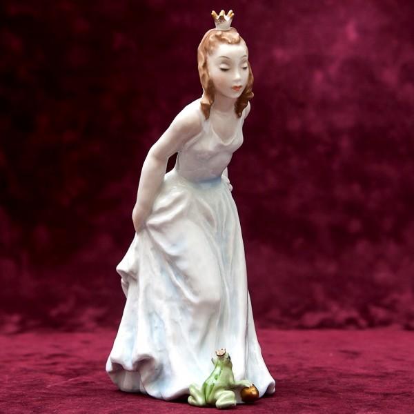 Редкость!!! Авторская Фарфоровая Статуэтка «Принцесса и лягушка» ROSENTHAL Германия -50-е годы ХХ века.