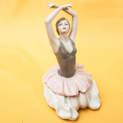 Коллекционная Фарфоровая Статуэтка «Балерина. Финал» Испания, Валенсия, 70-е годы ХХ века..