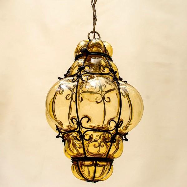 Электрический Подвесной Фонарь - Лампа - Светильник - Муранское стекло, Италия
