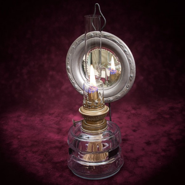 Керосиновая Лампа с Отражателем Kosmos - Brenner Франция начало ХХ века.