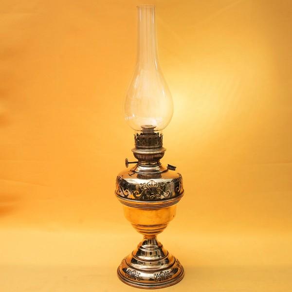 Винтажная Керосиновая Латунная Лампа Hersteller Berlin, Германия 1935 - 1940 год.