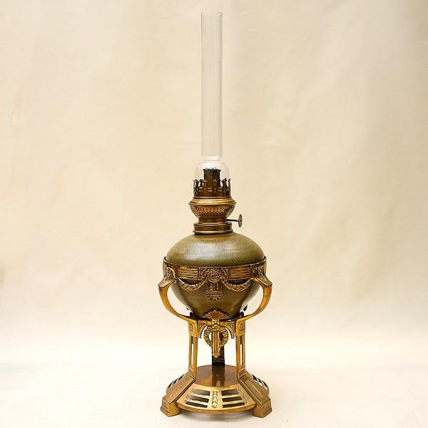 Винтажная  Керосиновая Лампа «Kosmos - Brenner» Франция - первая половина ХХ века.