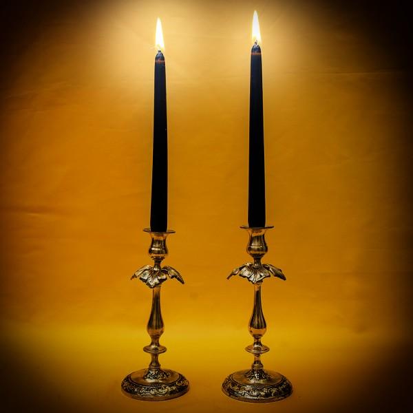 Парные «Будуарные» Подсвечники - Канделябры Латунь Англия середина ХХ века.