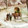 Коллекционная Тарелка «Зимняя Дорога» Фарфор, Royal Schwabap, Голландия -1984 год.