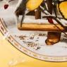 Коллекционная Тарелка «О, как ты счастлив», Фарфор, Suisse Langenthal, Швейцария -1992 год.