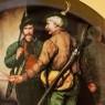 Коллекционная Тарелка «Проводы охотников» Фарфор, Lilien Porzallan, Австрия -1992 год.