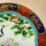 Большое Коллекционное Блюдо - Тарелка «ЖУРАВЛИ» Фарфор NORITAKE Япония -1979 год..