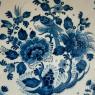 Декоративная Коллекционная Фарфоровая Тарелка «Райский Сад» DELFT, Голландия, d -30 см.