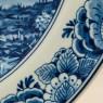 Редкая!!! Коллекционная Фарфоровая тарелка «СЕЛЬСКИЙ ПЕЙЗАЖ» DELFTs Голландия d - 29 см.