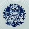 Декоративная Фарфоровая Тарелка «Рыбацкая Шхуна» ROYAL BOCH, d -31 см.