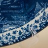 Декоративная Фарфоровая Тарелка «Клетка с попугаем» Голландия DELFTs. d - 29 см.