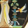 Коллекционная Тарелка - Блюдо «Свадьба Тутанхамона» Фарфор, Osiris Porcelain -1991 год.