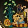 Коллекционная Тарелка - Блюдо «Рыбалка на Ниле» Фарфор, Osiris Porcelain -1992 год.
