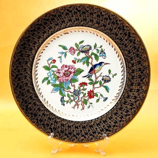 Коллекционная Тарелка «ПТИЦА В САДУ» Фарфор, AYNSLEY Англия, 1960-1972  годы.