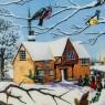 Коллекционная Тарелка «Рождественские Певцы» Фарфор, WEDGWOOD, Англия -1990 год.
