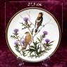 Коллекционная Тарелка - Блюдо «Боболинк или Рисовая Птица» Фарфор, WEDGWOOD Англия 1977 год.
