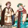 Коллекционная Тарелка «Русские Сказки» - «Снегурочка» Фарфор, Villeroy&Boch Германия -1990 год.