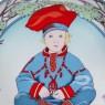 Коллекционная Тарелка «Дети Мира» - «Финляндия» Фарфор Heinrich Villeriy&Boch - 1980 год.