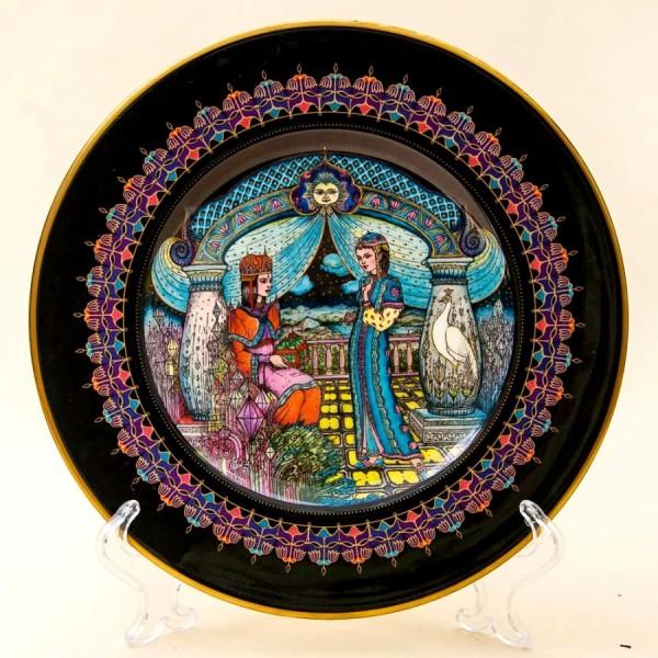 Коллекционная Тарелка «Русские Сказки» - «КАМЕННЫЙ ЦВЕТОК» Фарфор, Villeroy&Boch Германия -1986г.