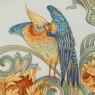 Коллекционная Авторская  Тарелка - Блюдо «Райская Птица» Фарфор KAISER Германия D -30 см.
